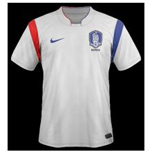 maillot foot extérieur Corée du Sud 2014 coupe du monde