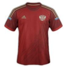 russie maillot domicile 2014 coupe du monde