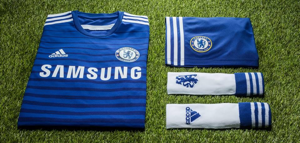 Chelsea 2015 maillot foot tenue officielle