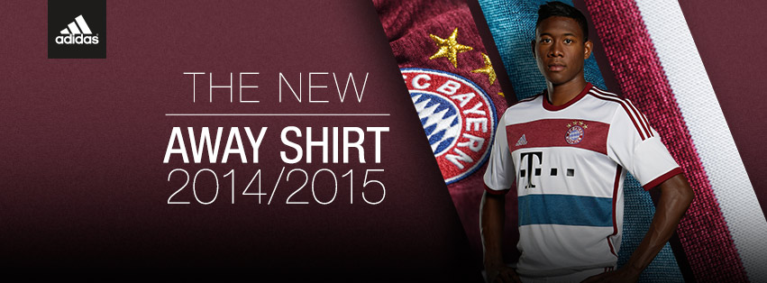 Bayern Munich 2015 maillot exterieur tenue