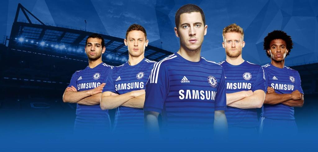 maillots de football Chelsea 2014 2015