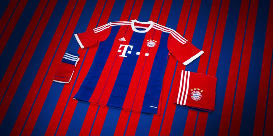 tenue football Bayern 2015