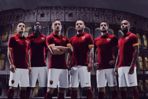 AS Roma 2015 maillot foot domicile officiel