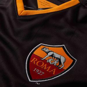 AS Roma 2015 troisieme maillot third blason col
