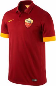 AS Rome 2014 2015 maillot domicile