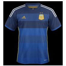 Argentine maillot foot extérieur coupe du monde 2014