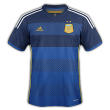 Argentine maillot foot ext%C3%A9rieur coupe du monde 2014 صور تيشرتات كل منتخبات كأس العالم 2014
