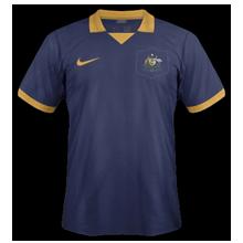 Australie maillot foot extérieur coupe du monde 2014