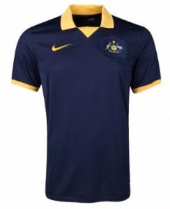 Australie 2014 maillot foot extérieur coupe du monde