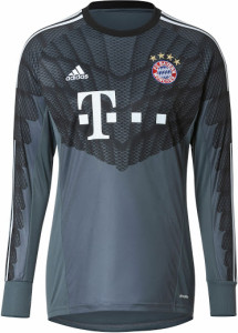 Bayer Munich maillot gardien 2014 2015 gris