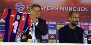 Bayern Munich 2014 2015 nouveau sponsor 1 maillot