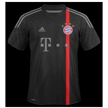 maillot foot troisieme Bayern Munich 2015