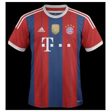 Bayern Munich maillot foot domicile 2015