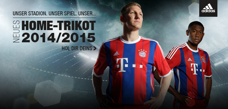 Bayern munich maillot officiel 2015