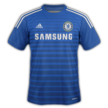 Chelsea 2015 maillot foot domicile 2014 2015