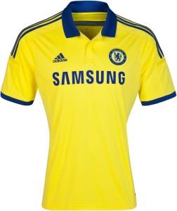Chelsea 2015 maillot foot exterieur 14-15