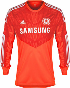 Chelsea 2015 maillot gardien rouge