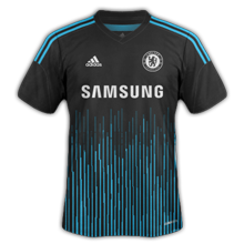 Chelsea 2015 maillot third football