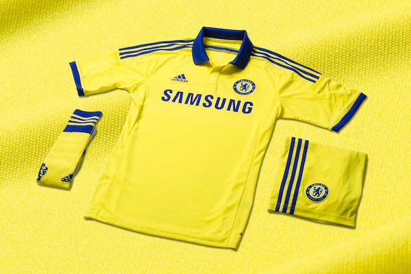 Chelsea maillot extérieur tenue officielle 2014 2015