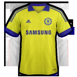 Chelsea maillot foot extérieur 2014 2015