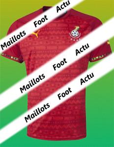 Ghana maillot foot extérieur coupe du monde 2014