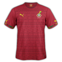 Ghana maillot foot extérieur CAN 2015