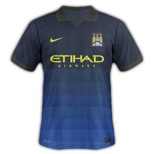 Manchester City 2015 maillot exterieur 14 15