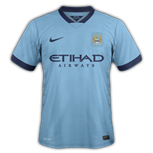 Manchester City 2015 maillot domicile 14-15