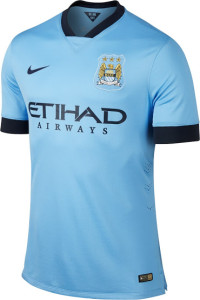 Manchester City 2015 maillot domicile officiel