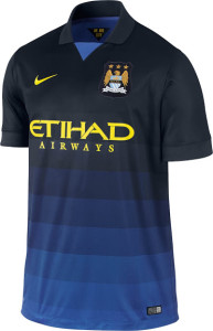 Manchester City 2015 maillot exterieur officiel