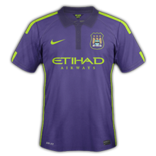 Manchester City 2015 maillot third 14-15
