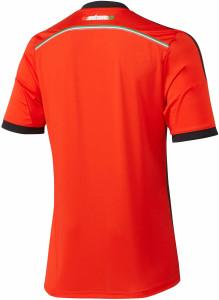 Mexique maillot foot extérieur coupe du monde 2014 dos