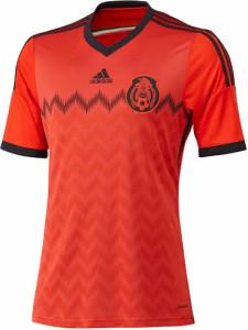 Mexique maillot foot extérieur coupe du monde 2014