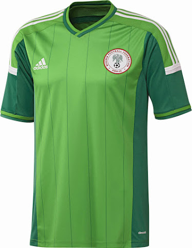 Nigeria 2014 maillot foot coupe du monde 2014