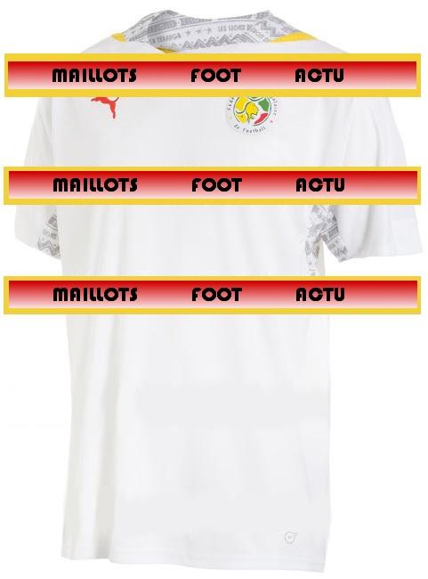 Senegal 2014 maillot foot domicile