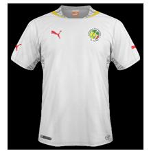 Sénégal 2014 maillot foot domicile