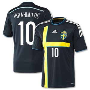 Suède maillot foot extérieur 2014