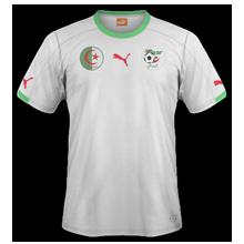 maillot foot domicile Algérie 2014 coupe du monde
