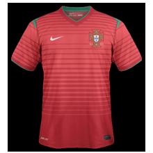 maillot foot domicile Portugal 2014 coupe du monde