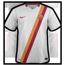 AS Roma 2015 maillot football extérieur 14-15