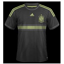maillot foot extérieur espagne 2014 coupe du monde