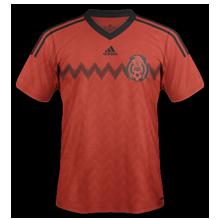 maillot foot extérieur mexique 2014 coupe du monde