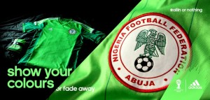 nigeria maillot domicile 2014