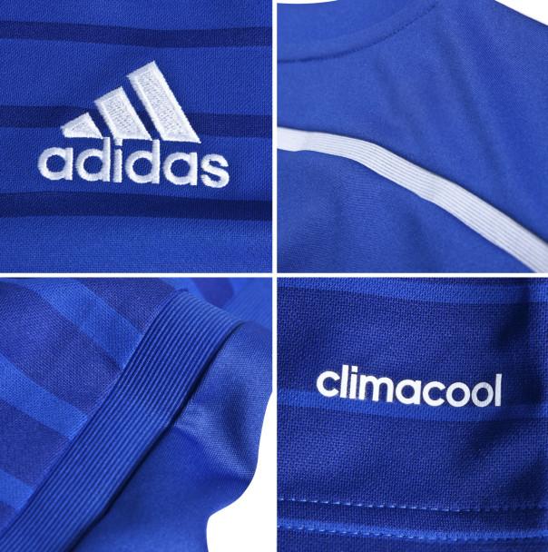 détails nouveau maillot domicile 2015 Chelsea FC