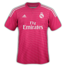 real madrid maillot foot extérieur 2015