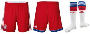 short et chaussettes de football Bayer Munich domicile 2014 2015