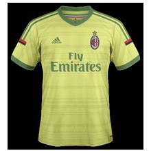 AC Milan 2015 third