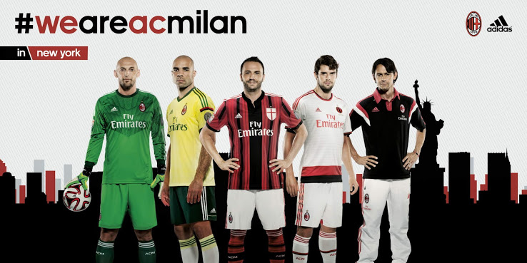 AC Milan maillots de foot 2014 2015