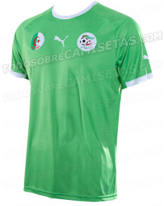 Algérie maillot extérieur 2014 coupe du monde