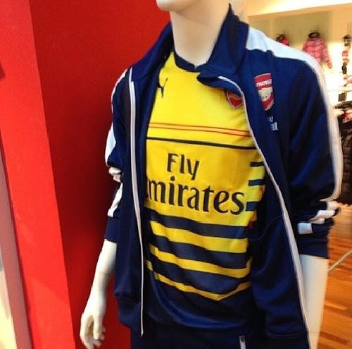 Arsenal 2015 maillot exterieur entrainement